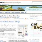 Mom Blogger of the Week at About.com