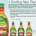 New Wishbone Dressing Flavors
