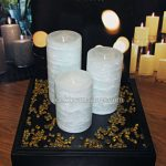 GloLite Pillar Candles From PartyLite