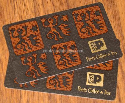 Blogoversary Giveaway #11: $10 Peet's Coffee & Tea Gift Card