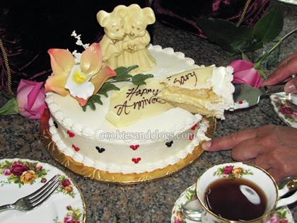 Walt Disney World Custom Cakes A Special Anniversary Surprise