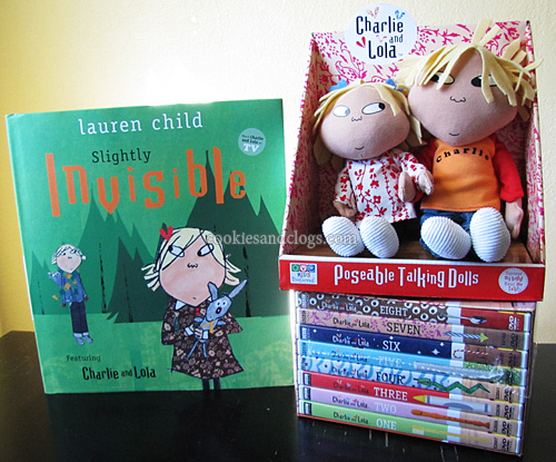 Charlie & Lola DVD, Book, and Playset