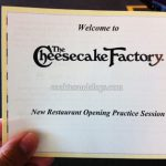 The Cheesecake Factory in San Mateo, CA Opening Today!