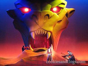 Disney California Adventure – Aladdin show