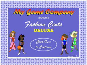 Fashion Cents Deluxe PC Mac Computer Game