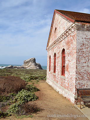Piedras Blancas Light Station near San Simeon, California