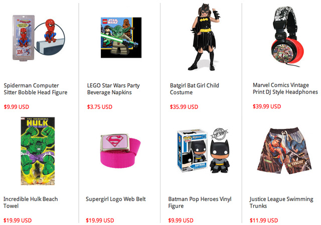 Simply SuperHeroes Merchandise Party Decorations Video Clip