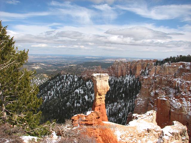 Bryce Canyon US National Park in Utah UT Hoodoo