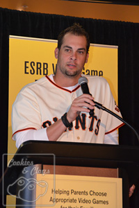 SF San Francisco Giants Ryan Vogelsong Buster Posey ESRB PSA Video Game Rating Campaign