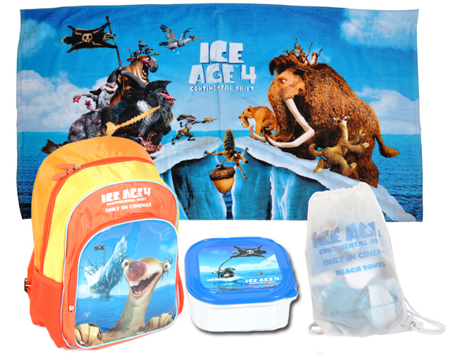 Ice Age Continental Drift Prize Pack