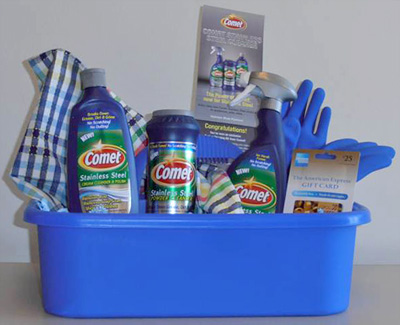 Comet Stainless Steel Appliance Cleaner $ Giveaway Caddy