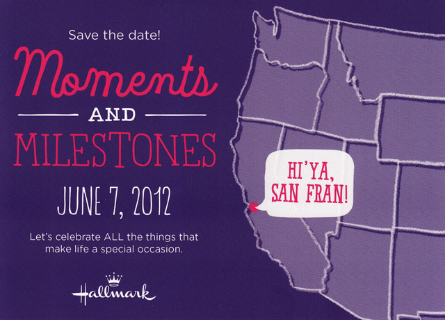 Hallmark Moments and Milestones Tour Hallmarktour in San Francisco California