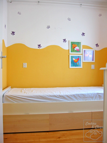 Decor for Small Children's Bedroom With Paint