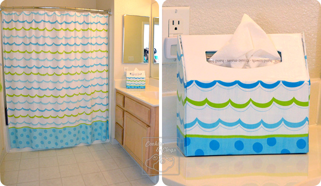 DIY Kleenex Hand Towel Decorative Box Holder Cover Tutorial