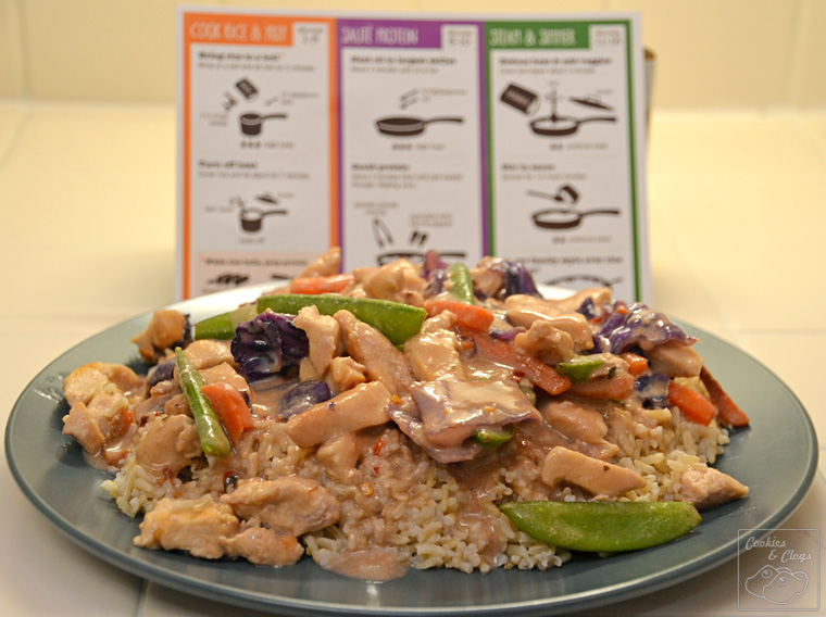 Citizen chef meal kit add meat protein