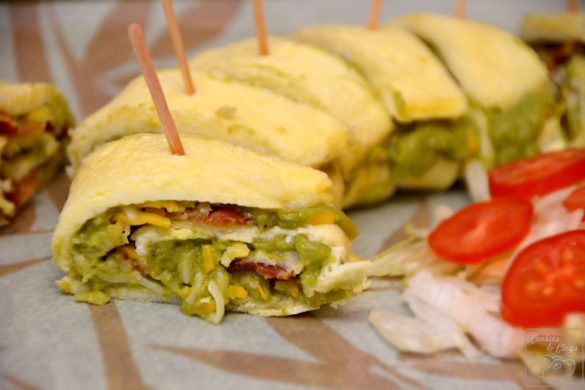 Guac Egg Roll Wholly Guacamole Appetizer Recipe