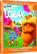 Dr. Seuss' The Lorax DVD Blu-Ray