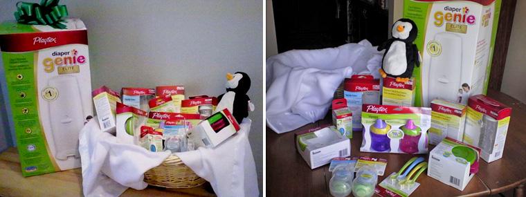 Playtex prize pack Diaper Genie Babies R Us