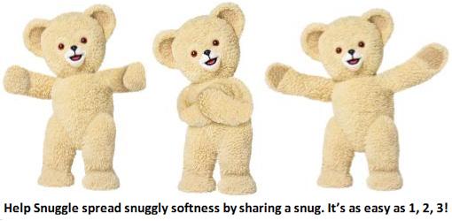 Snuggle snug across america hug