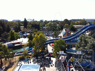 California Great America Theme Park Santa Clara