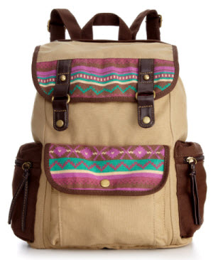 macys mblog backpack american rag