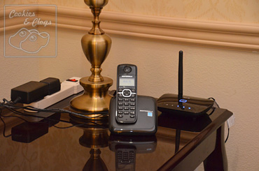 Using Verizon Wireless Home Phone Connect in Hotel Room While Traveling