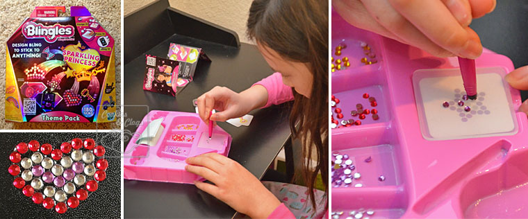 Blingles Bling Shiny Rhinestone Gem Stickers you make yourself