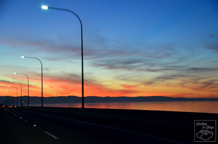 San Mateo Hayward Bridge Sunset Photography