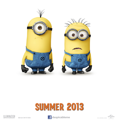 Despicable Me 2 Minion Poster Teaser Summer 2013