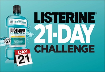 Listerine 21 Day Challenge Oral Care