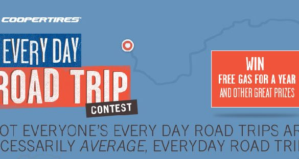 Cooper Tire My Every Day Road Trip Contest Logo 2013