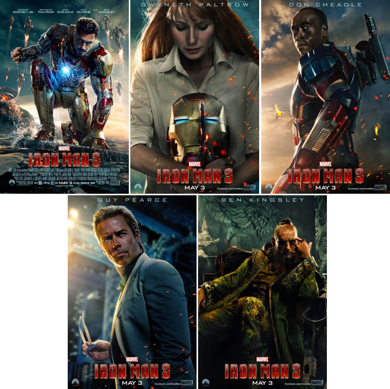 Marvel Iron Man 3 Poster