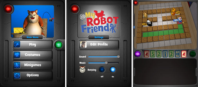 LeapFrog My Robot Friend iOS App for older children