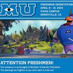 I'm Going Back to School – Find Out Where & What For #MonstersUEvent