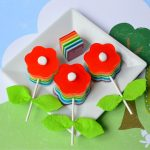 Bloomin' Gelatin Pops + 6-Color Rainbow Jell-O / Jello Recipe