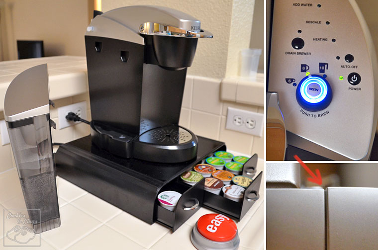 Keurig Officepro Single Serve Coffee Maker And Organizer From Staples