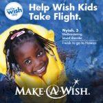"""Help Wish Kids Take Flight"" This April w/ Make-A-Wish"