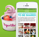 Yogurtland Mobile App with Frozen Yogurt Flavor Finder