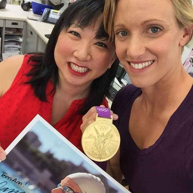 Loved meeting danavollmer last week to chat about the olympicshellip