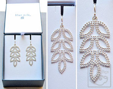 Blue Nile Fine Jewelry - Sterling Silver Earrings Review + Discount