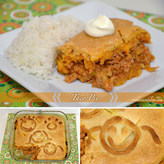 Taco Pie Recipe By Cookies and Clogs - Recipe of the Day on Circle of ...