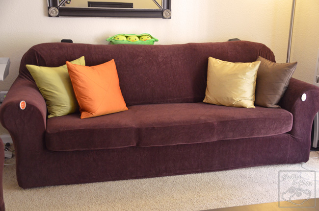 Caber Sure Fit Surefit Sofa And Loveseat 2 Piece Form Strech Slip Covers