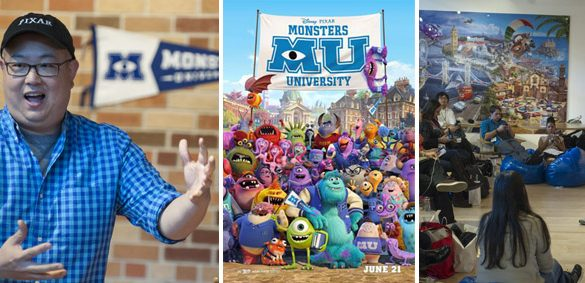 "Monsters University ""Squishy"" Interview with Pete Sohn"