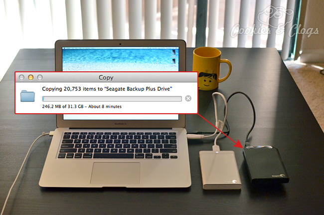 seagate backup plus how to use mac