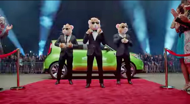 2014 Kia Soul And Hamsters Commercial
