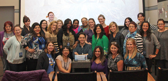 Disney Frozen movie - Interview with Santino Fontana, voice of Prince Hans #DisneyFrozenEvent