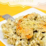 Easy 15-Minute Chicken Alfredo Gluten-Free Recipe