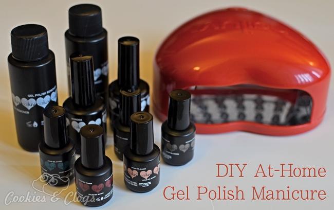 DIY At-Home Gel Polish Manicure Tools and Tutorial w LED Lamp #NailArt