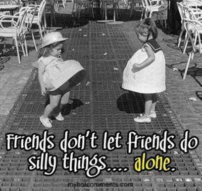 Funny Friendship Quotes: Doing Silly Things w/ Cute Photo ...