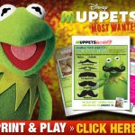 Muppets Most Wanted DVD / Blu-ray + Printables for Kids
